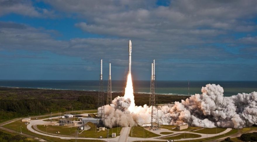 Atlas 5 launch of MSL