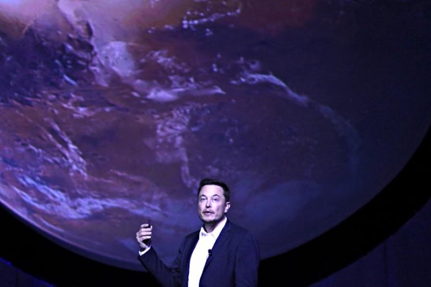 Mars Tour Elon Musk
