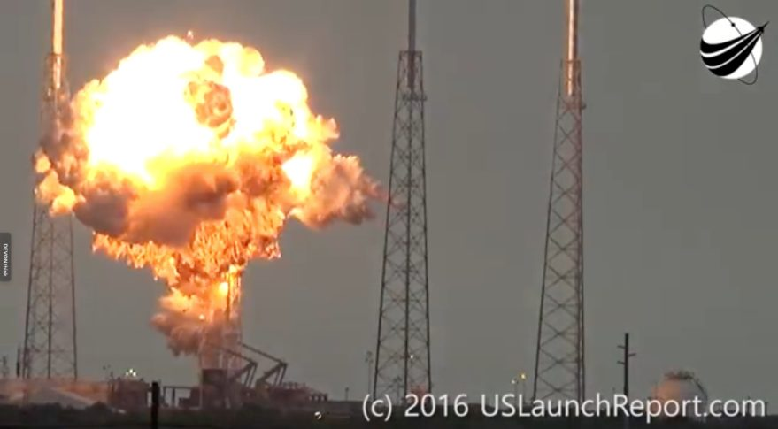 a spacex falcon 9 rocket explodes sept 1 during fueling operation in preparation for a