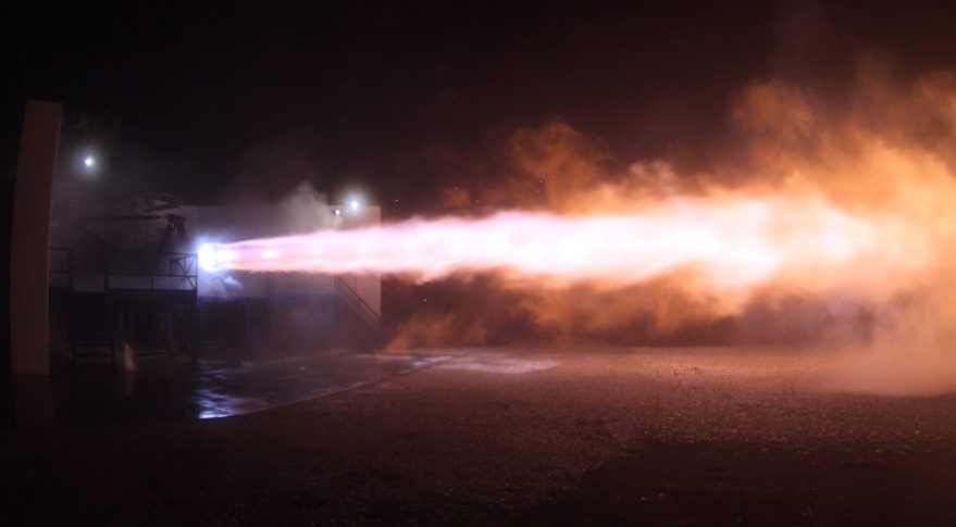 SpaceX Raptor test