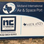 The Midland International Air & Space Port is already home base for two entrepreneurial space firms: XCOR and Orbital Outfitters, which took this photo during their 2014 groundbreaking.