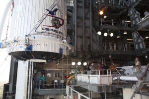 OSIRIS-REx payload fairing