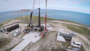 Rocket Lab launch site