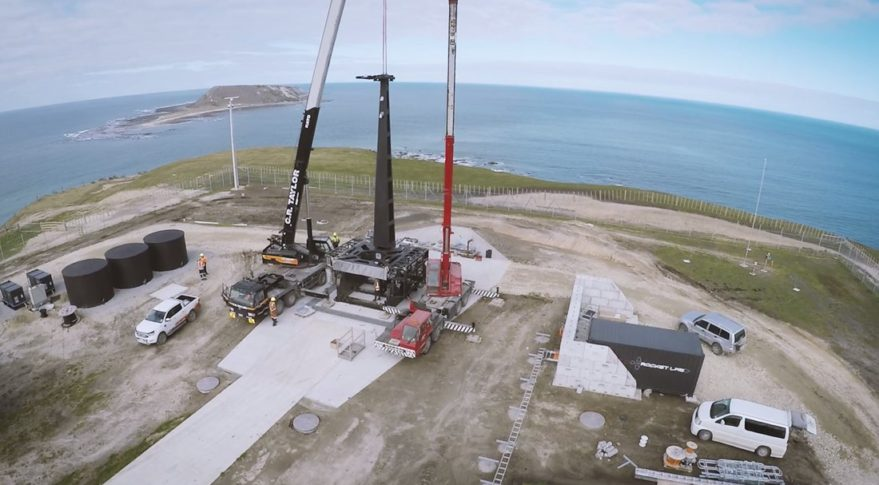 Rocket Lab launch site