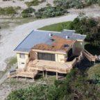 hurricane damage at Beach House