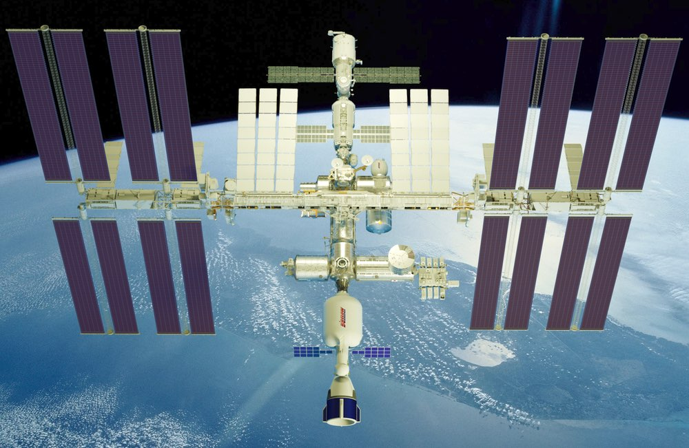 Bigelow module on ISS
