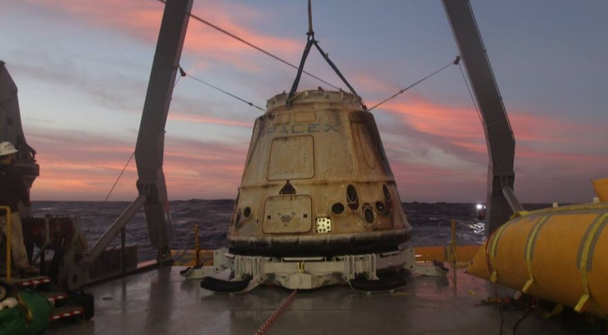 SpaceX to reuse Dragon capsules on cargo missions ...