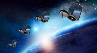 SkySats in orbit