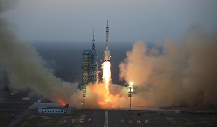 Shenzhou-11 launch