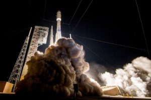 A United Launch Alliance Atlas V rocket launches the advanced new GOES-R weather satellite into orbit from Space Launch Complex 41 at Cape Canaveral Air Force Station, Florida on Nov. 19, 2016. Credit: United Launch Alliance