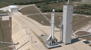 Crew Dragon Falcon 9 Pad 39A