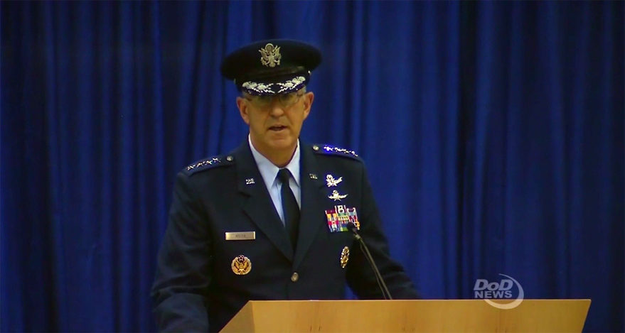 Former Space Command leader Hyten takes over at STRATCOM - SpaceNews com