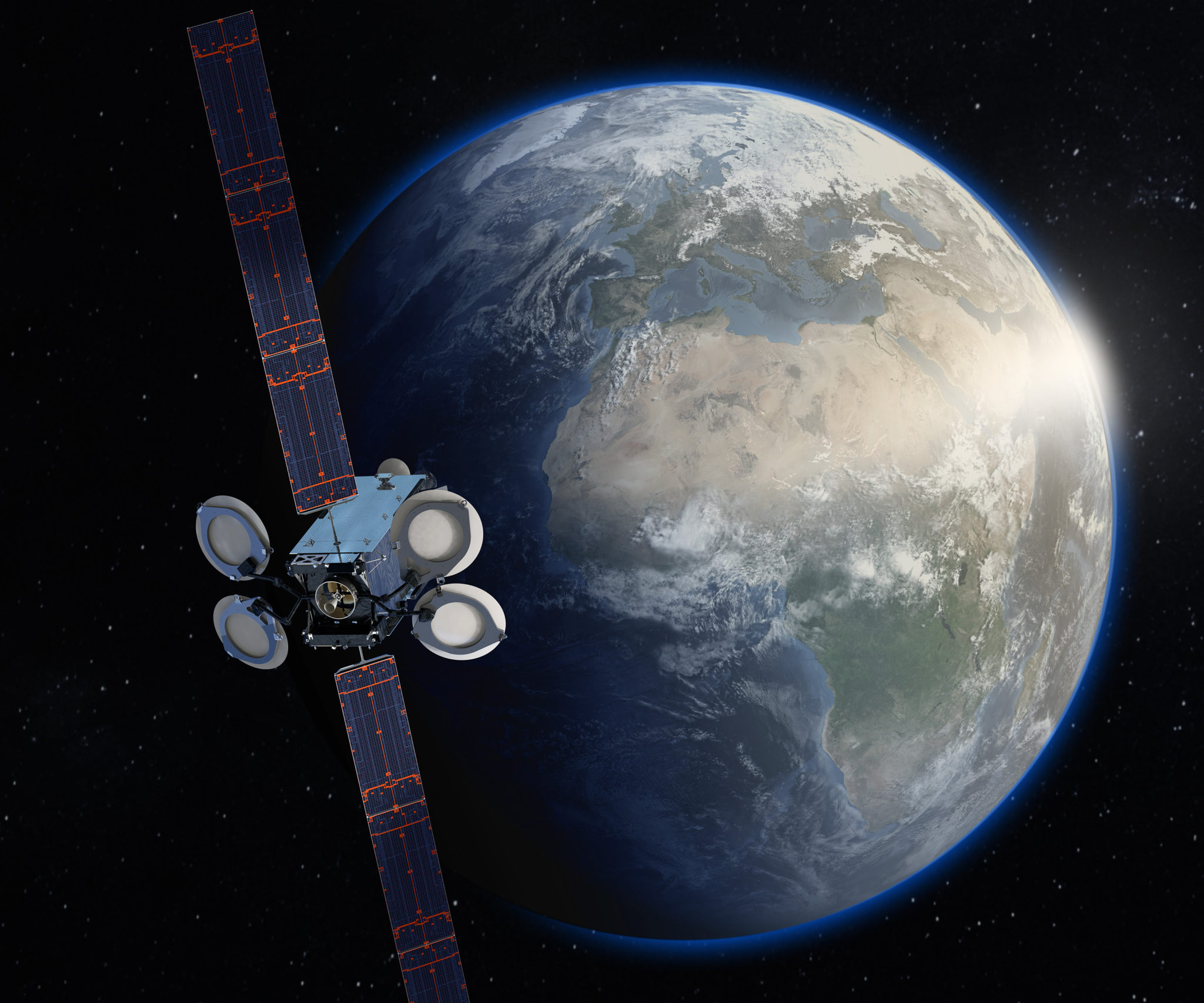 Amos-17 702 satellite Spacecom