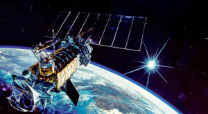 Artist's rendering of a Defense Meteorological Satellite Program satellite. The National Reconnaissance Office developed the program in the 1960's and handed it off to the Air Force. Now the House has passed a bill that will send authority for acquiring weather satellites back to the NRO. Credit: Lockheed-Martin