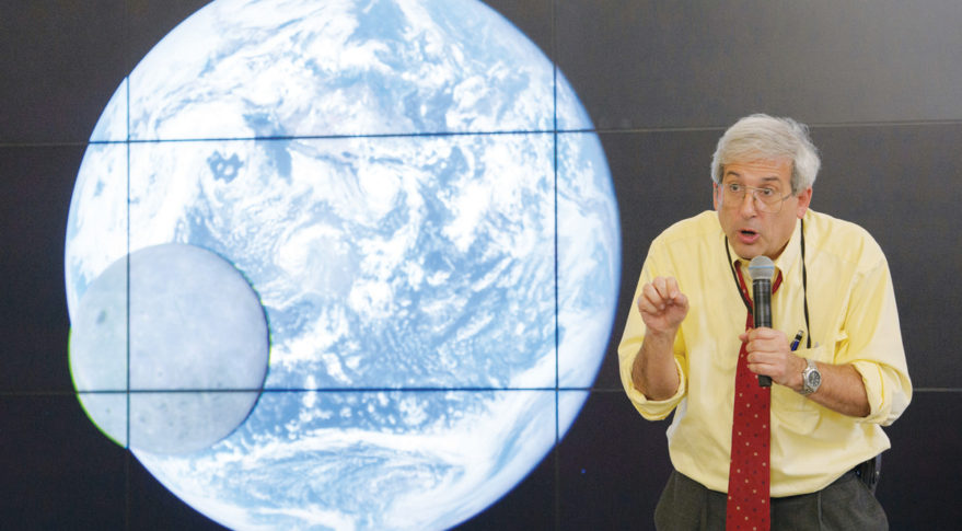At a time when NASA earth scientists are concerned their research may be scuttled by the incoming Trump administration, the space agency's top science official is preaching pragmatism and unity. Credit: NASA