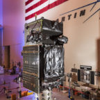 SBIRS GEO Flight 3, the next satellite scheduled to join the U.S. Air Force's Space Based Infrared System (SBIRS), in final assembly and test at Lockheed Martin in Sunnyvale, California. Credit: Lockheed Martin