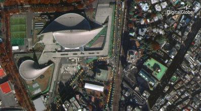 WorldView-4 Toyko Japan First Image DigitalGlobe