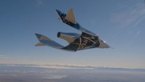 SpaceShipTwo glide flight