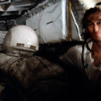 Astronaut Eugene A. Cernan, Apollo 17 commander, is pictured inside the lunar module following the third session of extravehicular activity on the 20th century's last lunar landing mission. Credit: NASA