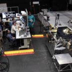 DARPA's RSGS program aims to take satellite-servicing technologies tested on the ground into orbit in 2020 to 2021 for a full-up demo. Credit: DARPA