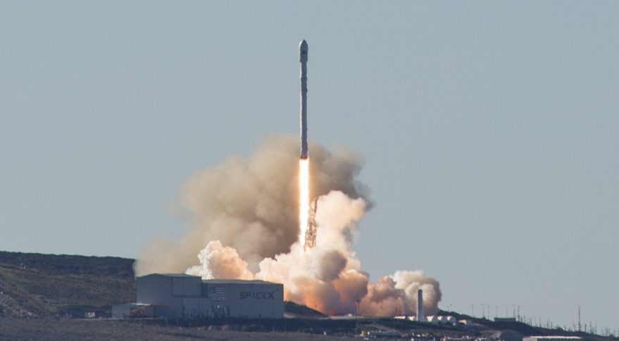 SpaceX launches Indonesian satellite and kicks off new round for rocket reusability