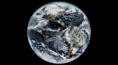 GOES-16 Earth image