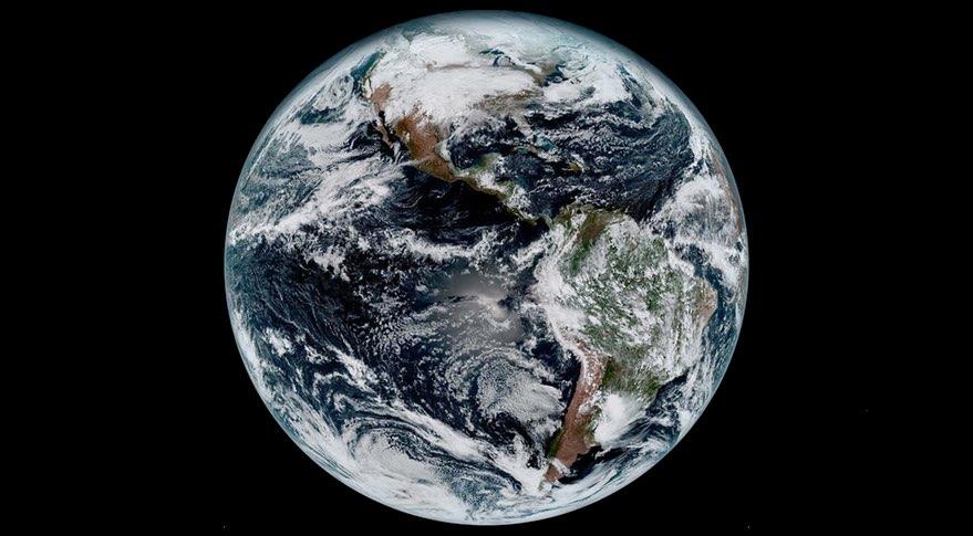 GOES-16 Earth image