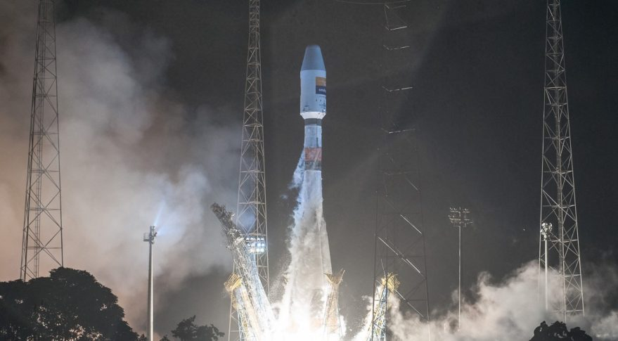 Hispasat-36W-1 launch Soyuz