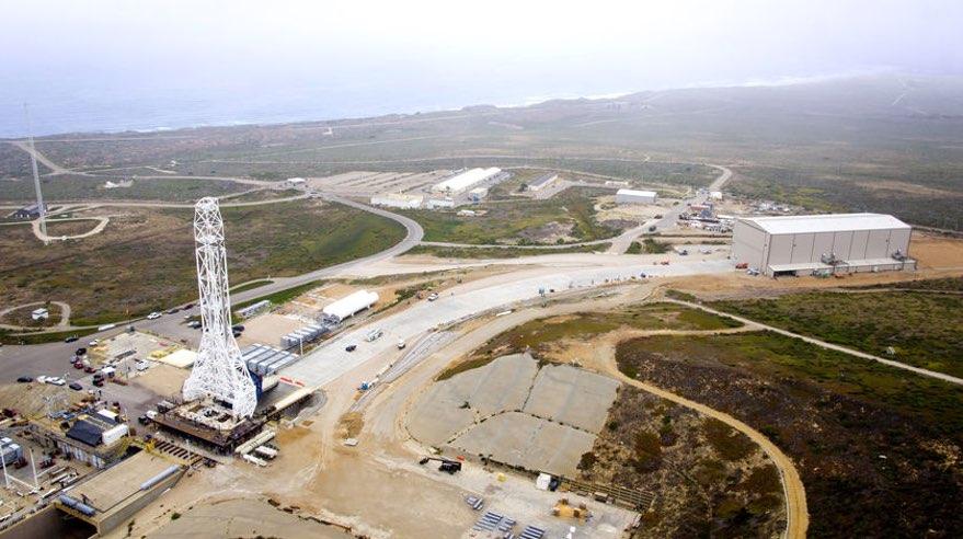 SpaceX Vandenberg launch site