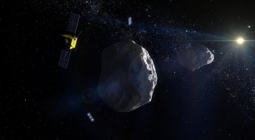 AIM ESA Cubesats Asteroids