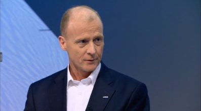 Airbus CEO Tom Enders presented the company's 2016 financial results during a webcast press conference Feb. 22.