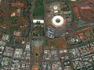 WorldView-4 captured this image of Brasilia on Jan. 11, 2017. Credit: DigitalGlobe