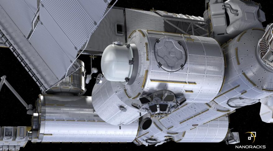 Momentus to rely on NanoRacks airlock for Vigoride shuttle