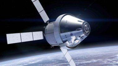 Orion with European-built service module