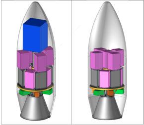 Vega payload adaptor configurations