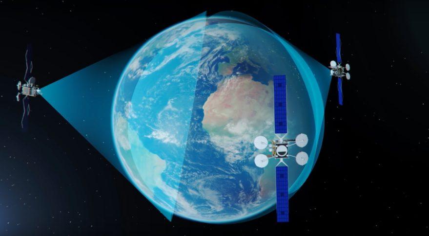Map Of Asia Via Satellite.Viasat Orders Asia Pacific Viasat 3 From Boeing Amid Record Revenue Spacenews Com