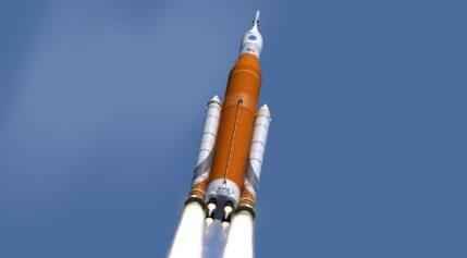 SLS EM-1 launch
