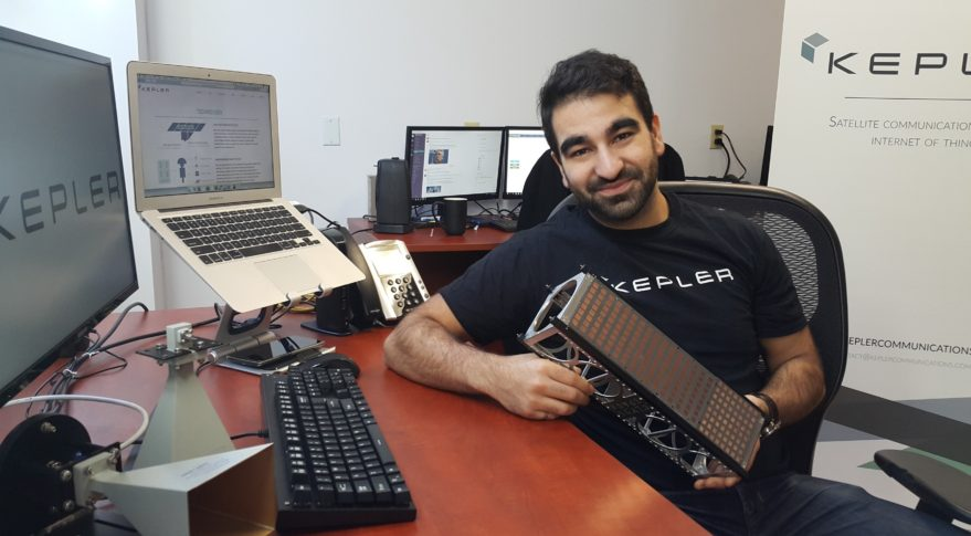Kepler Communications Mina Mitry