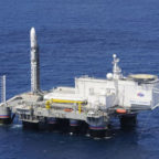Sea Launch's Odyssey platform with launch vehicle. Credit: Sea Launch