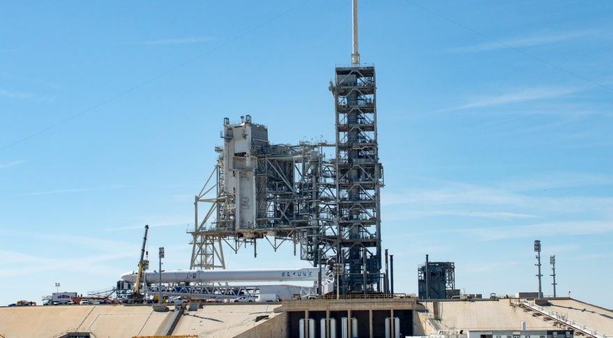 Falcon on LC-39A