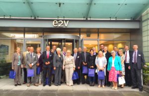 Mayor of Backnang visits e2v