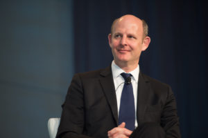 Inmarsat CEO Rupert Pearce. Credit: Kate Patterson for SpaceNews