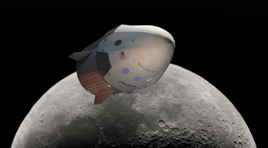 Image result for SpaceX Plans To Send Tourists Around The Moon In 2018