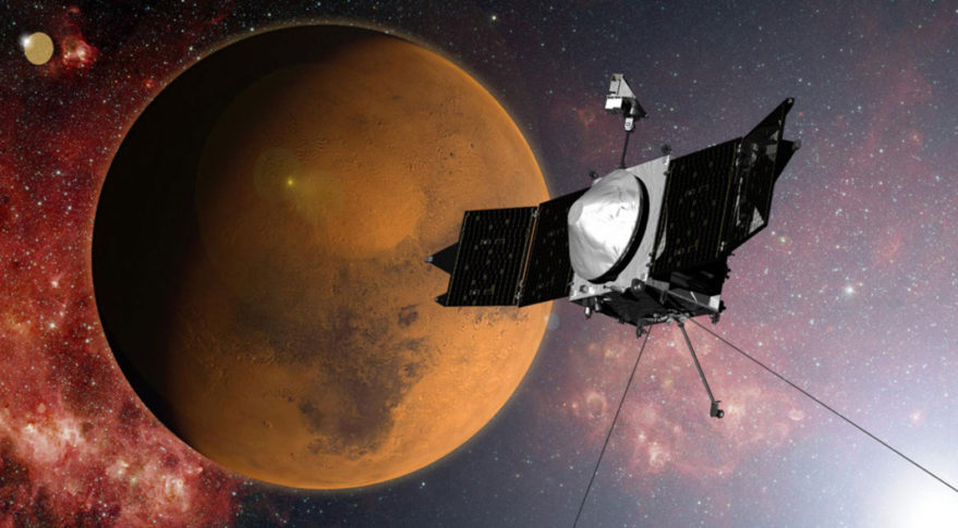 NASA spacecraft avoids potential collision with Martian ...