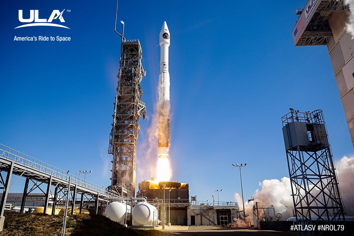 Ula Launch Successfully Carries Nro Payload Into Orbit