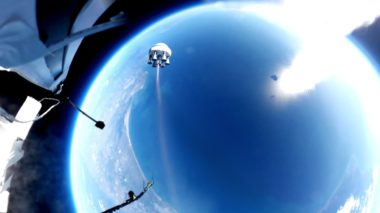 Bloostar Zero2Infinity Balloon-Rocket Rockoon