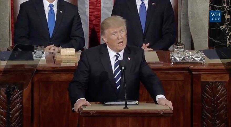 Trump speech