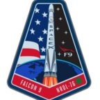 SpaceX's mission patch for the Falcon 9 NROL-76 launch. Credit: SpaceX