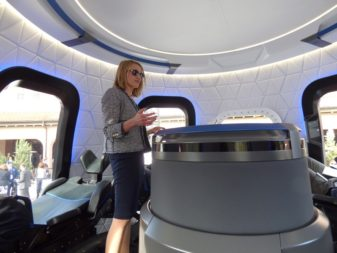 New Shepard cabin