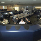 Intelsat's Network Operations Center mages and monitors its customers' satellite traffic. Credit: Intelsat